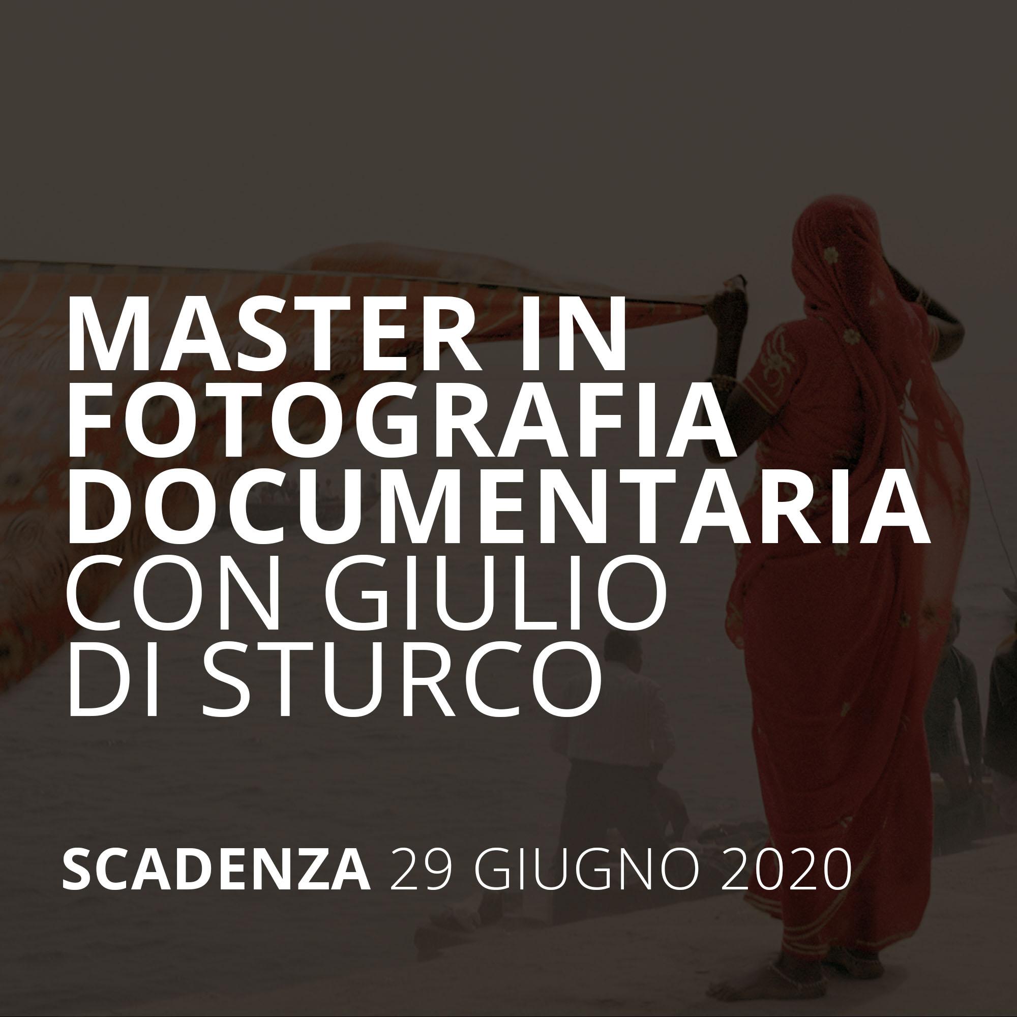 BORSE DI STUDIO FOTOGRAFIA DOCUMENTARIA